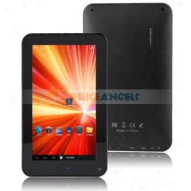 Quanzhi A10 Android4.0.3 Cortex A8 1.2ghz 7-inch Capacitive Tablet Pc(black)