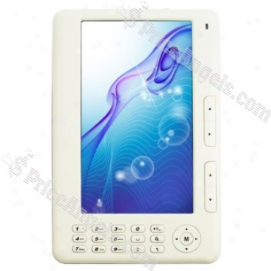"""7""&quoy; Lcd Protection Avi / Rm / Rmvb / Mp4 Player And E-book Reader (4gb / Tf Slot)"""