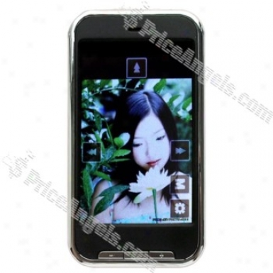 """classic 3.0"""" Lcd Touch Screen 3-key Multi-media Mp3 / Mp4 / Dv / Mp5 Player (built-in 4gb Memory) - Black"""