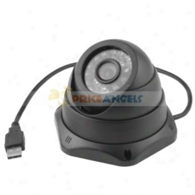 """hemisphere Style Arm9 32-bit Video Security Camera Cctv Monitor 1/3"""" Ccd"""