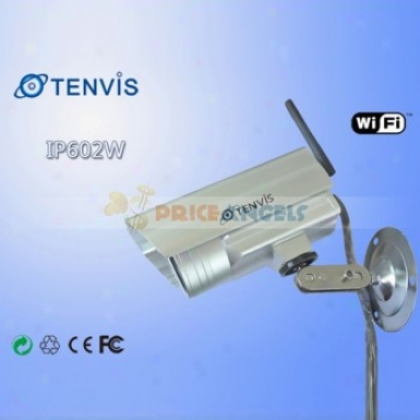 """tenvis Ip602w 30 Led 1/4"""" Cmos Ir Night Vision Wireless Outdoor Ip Camera"""