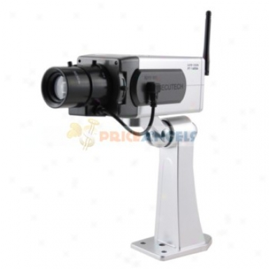 Realistic Looking Wireless Pseueo Fake Dummy Decoy Security Camera