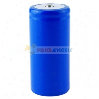 Rechargeable 3.7v 5000mah Size D 26650 Li-ion Battery