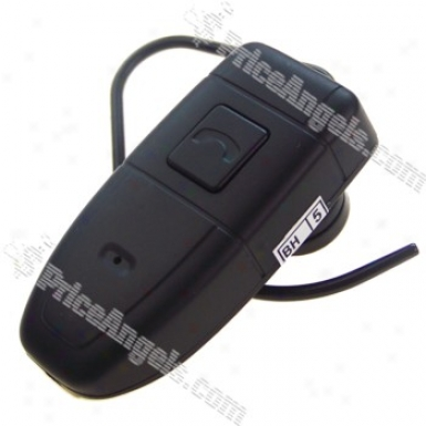 Rechargeable Digital Quality Pin-hole Spy Av Camera Disguised As Bluetooth Headset (4gb)