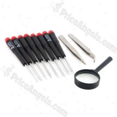 Repair Precision Electronics Torx Screwdriver Set(8-picec/black)
