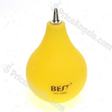 Rubber Air Dust Blower (yellow)
