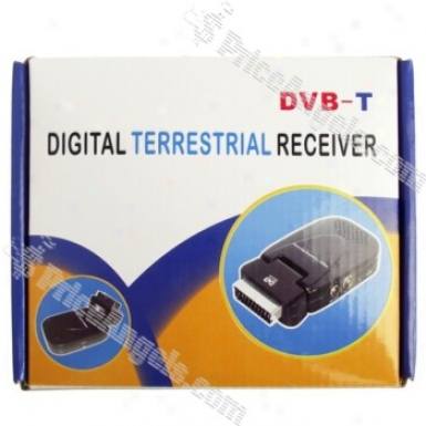Scart Dvb-t Digital Terrestrial Receiver + Usb Pvr With Remote Control