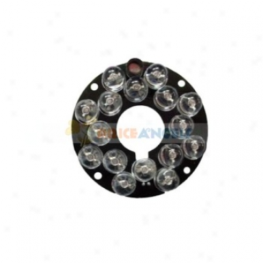 Security Camera 16 Led Ir Infrared Illuminator Board Plate