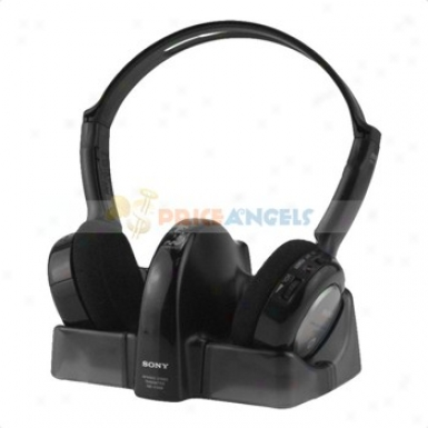 Sony Mdr-if240rk 7m Rechargeable Infrared Wireless Headphone System For Tv/hifi(black)