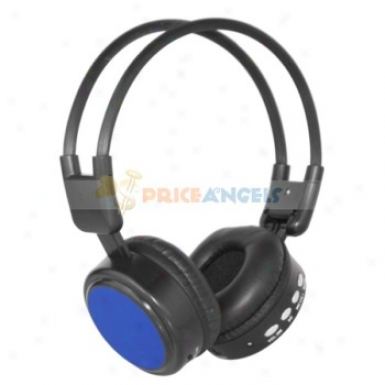 Sports Headset Heqephone Mp3 Player With Fm Tf Slot(blue)