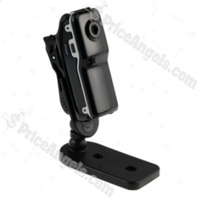 Sports Mini Dv Dvr Pocket Video Spy Camera Web Cam(black)