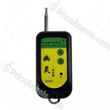 Spy Bug And Camera Wireless Signal Detector Keychain (100mhz~2600mhz)