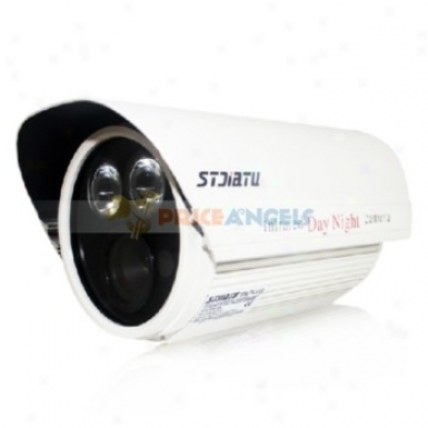 Stjiatu St-39r/5cpii 1/3 Exview Had Ccd Ii 700 Tv Streak Led Array Ir Cctv Moniter Camera