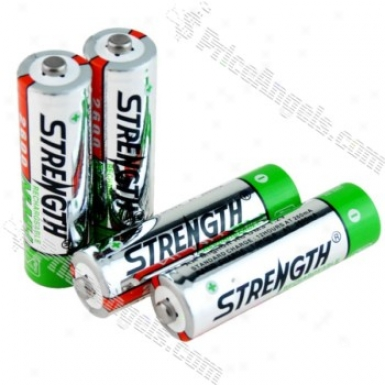 Strength Environjent Friendly 2600mah Aa Rechargeable Battery(4pcs)