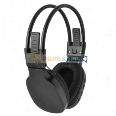 tSylish Folded On-ear Headphone TfS lot Mp3 Media Player With Fm(black)
