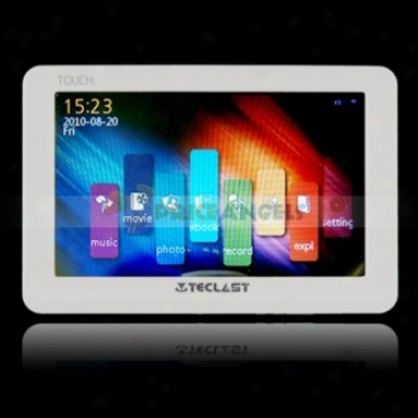 Teclast C520sp 8gb 5-inch Touch Screen Mp4 Media Player Upon Tv-out