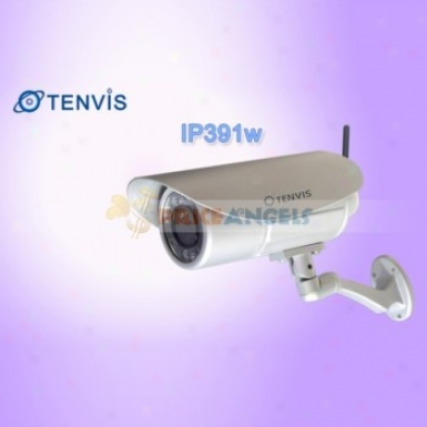 Tenvis Ip391w 18 Lec 1/4 Cmos Ir Night Vision Wireless Outdoor Ip Camera