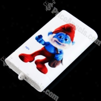 The Smurfs External Battery Pack For Iphone/htc/psp With Cellphone Adapters(papa Smurf)