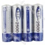 Bty Aa 25O0mah 1.2v Ni-m hRechargeable Battery(4-pack)