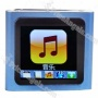 Designer's 1.5-inch Lcd Mp3/mp4 Protable Media Player With Fm Radio/g-sensor-blue(2gb)