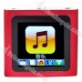 Designer's 1.5-inch Lcd Mp3/mp4 Portable Media Player With Fm Radio/g-sensor-red(2gb)