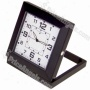 Usb Rechargeable 5.0mp Pin-hole Scrutinize Av Camera Disguised As Wokring Desktop Clock (tf Card Slot) - Black