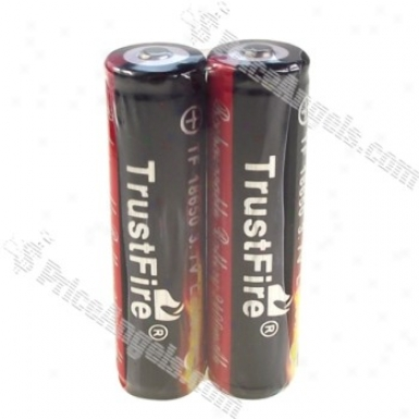 Trustfire Rechargeable 3.7v 2400mah Li-ion 18650 Batteries Wit Phcb(2-pack.color Assorted)