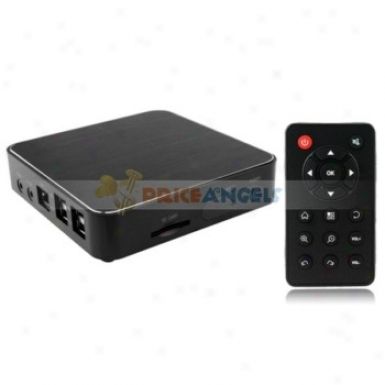 Tv2918 Full Hd 1080p Android 2.3 Internet Wifi Tv Box Media Plaer With Sd/usb/hdmi/ypbpr/rj45(black)