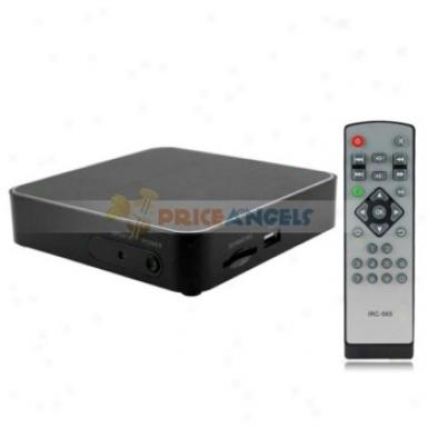 Tv8726 Full Hd 1080p Android 2.3 Internet Wifi Tv Box Media Plyaer With Sd/usb/hdmi/ypbpr/rj45(black)