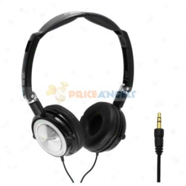 Tymed Tm-4 Fashion Supe Low Stereo On-ear Headset Headphone(black)