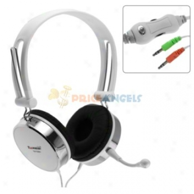 Tymed Tm-f26mv Hifi Stereo Fashion Headset Headphone With Microphone