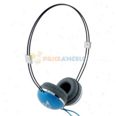 Tymed Tm013 Stereo 3.5mm Headset Headphone Earphone Earpiece For Mp3 Mp4 Cd Player(blue)