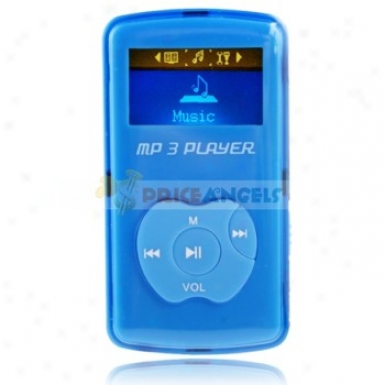 Uggu G-50 2gb 1.1-inch Screen Stereo Mp3 Player With Speaker(blue)