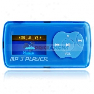 Uggu G39 2gb 1.1-inch Screen Stereo Mp3 Player With Speaker(blue)