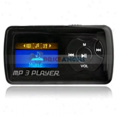 Uggu G39 2gb 1.1-inch Screen Steereo Mp3 Player With Speaker(black)