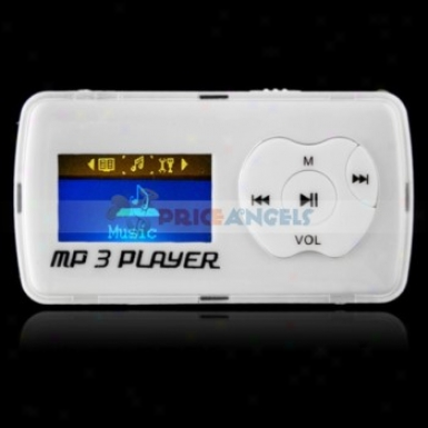Uggu G39 2gb 1.1-inch Screen Stereo Mp3 Player With Speaker(white)
