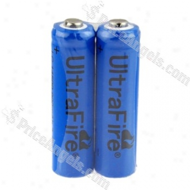 Ultrafire 3.6v 900mah Rechargeable 14500 Batteries(2-pak)