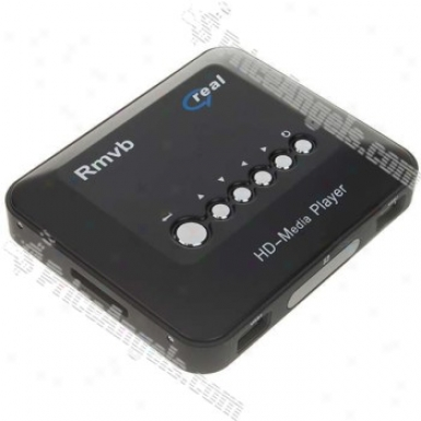 Usb 2.O Hd Component Video Rm/rmvb Portable Media Player With Remote Control (110~240v Ac)