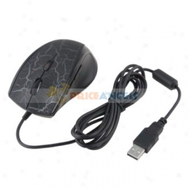 Usb 2.0 Optical Scroll Wheel Gaming Miuse/mice For Laptop/pc(black)