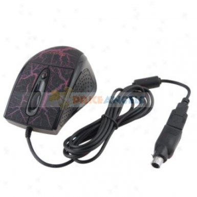 Usb 3.0/2.0/1.1 Optical Flourish Wheel Gaming Mouse/mice For Laptop/pc(black)