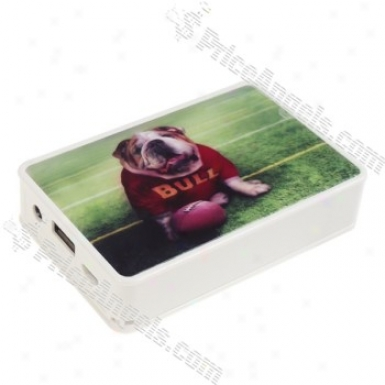Usb Rechargeable Card Mp3 Speaker-bull Dog(sd/sdhc/usb)