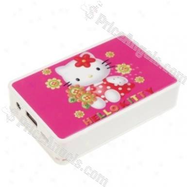 Usb Rechargeable Card Mp3 Speaker-kitty(sd/sdhc/usb)