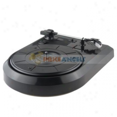 Usb Turntable Player Vinyl Lp Records Converter Audio Phonograph Grqmophone Electrola Speaker For Audiophiles(us Plug)