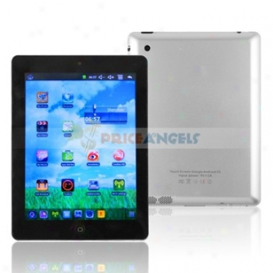 Via 800mhz Cpu 4gb Android 2.2 8-inch Resistance Screen Tablet Pc Laptop With Camera Wifi 3g Networking(silver)