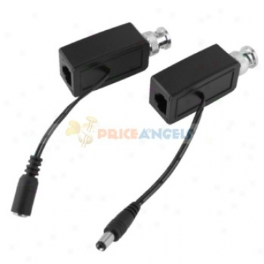 Video Balun Data Cctv Via Twisted Pair(pair)