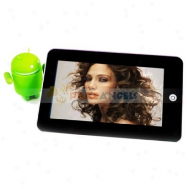 W702 4gb Android 2.2 7-inch Touch Screen Tablet Pc With Wifi/3g/tf Card Slot(black)