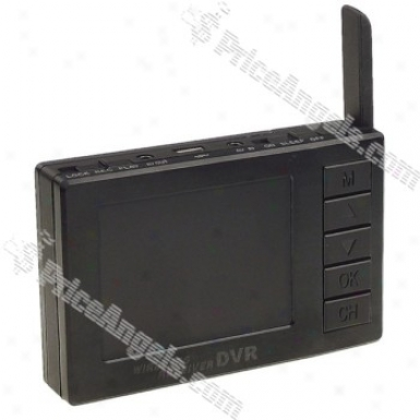 Wireless 2.4ghz 2.4-inch Lcd 4 Chqnnel Dogital Video Recoder With Pinhole Camera System