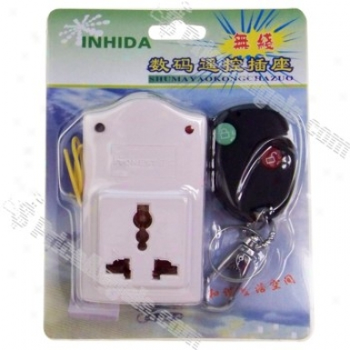 Wireless Remote Control Ac Power Socket (ac 220v / 500w)