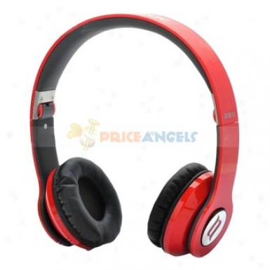 Zoor On-ear Foldable Hifi Stearo Headset Headphone Red