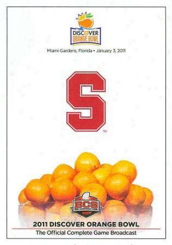 2011 Discovwr Orange Bowl: Stanford Vs. Virginia Tech